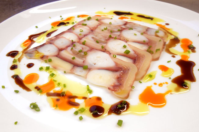 Terrina de pulpo