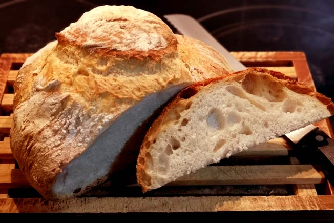 Pan gallego artesano